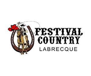 Logo Le Festival country de Labrecque